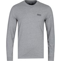 Barbour International Grey Marl Long Sleeve T-Shirt