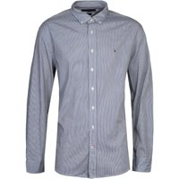 Tommy Hilfiger Blue Stripe Regular Fit Shirt