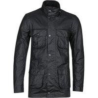 Barbour Corbridge Black Hooded Wax Jacket