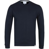 Norse Projects Vagn Dark Navy Crew Neck Sweatshirt