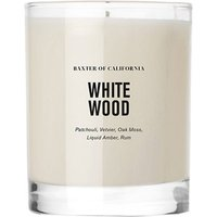 Baxter of California White Wood Scented Candle