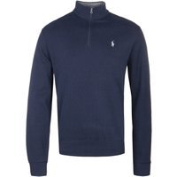 Polo Ralph Lauren Aviator Navy Zip Neck Sweatshirt