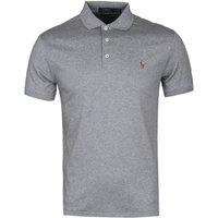 Polo-Ralph-Lauren-Grey-Pima-Cotton-Slim-Fit-Polo-Shirt