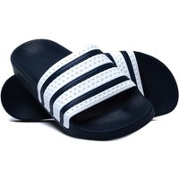 Adidas Originals Blue & White Adilette Sliders
