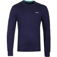 Diesel Laux Navy Knit Sweater