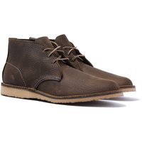 Red Wing 3327 Weekender Chukka Boots - Olive Brown Roughneck