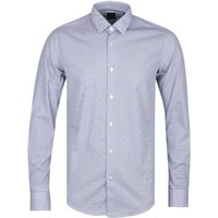 BOSS Ronni_F Slim Fit Geoprint Shirt