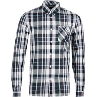 Fred Perry Bold Check Navy Shirt