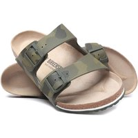 Birkenstock Arizona Camouflage Green Sandals