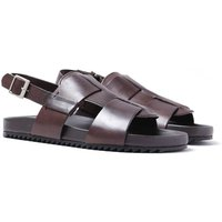 Grenson Wiley Hand Painted Brown Sandals
