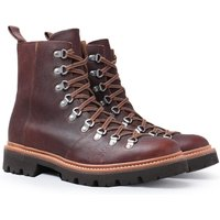 Grenson Brady Dark Brown Oil Grain Hiking Boots