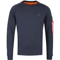 Alpha Industries X-Fit Navy Crew Neck Sweater