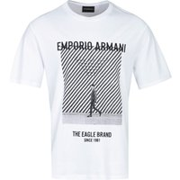 Emporio Armani Eagle Graphic White T-Shirt