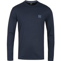 BOSS Tacks Dark Navy Long Sleeve T-Shirt
