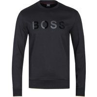 BOSS Stadler Logo Black Sweatshirt