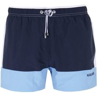 BOSS Filefish Cut & Sew Navy, Blue & White Swim Shorts