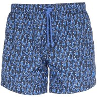 BOSS Rockfish Blue Monkey Print Swim Shorts