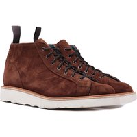 Trickers Ethan Ridge Kudu Reverse Suede Lace Up Boots