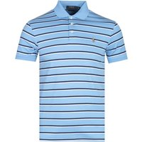 Polo Ralph Lauren Blue Striped Pima Cotton Polo Shirt