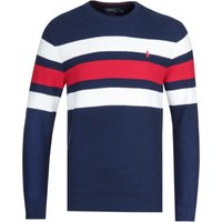 Polo Ralph Lauren Multi Stripe Navy Sweater