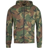 Polo Ralph Lauren Green Camo Print Zip-Through Hoodie