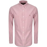 Polo-Ralph-Lauren-Long-Sleeve-Pink-Chambray-Shirt