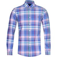 Polo Ralph Lauren Slim Fit Large Checked Long Sleeve Multi Colour Shirt