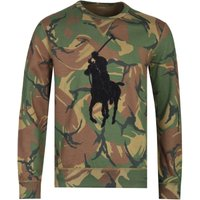 Polo Ralph Lauren Big Pony Green Camo Sweatshirt