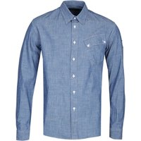 Belstaff Steadway Pitch Blue Shirt