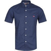 Levis Slim Fit Navy Short Sleeve Battery Shirt