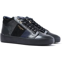 Android Homme Propulsion Mid Black & Navy Trainers
