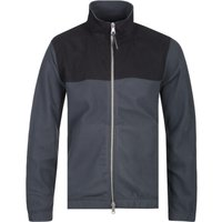 Albam Sport Fleece Black & Grey Jacket