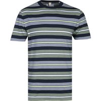 Albam Multi-Colour Stripe Short Sleeve T-Shirt