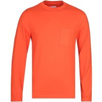 Albam Workwear Red Long Sleeve T-Shirt