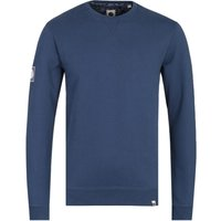 Pretty Green Clements Navy Crew Neck Sweatshirt