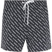 Dsquared2 All-Over Logo Black Swim Short