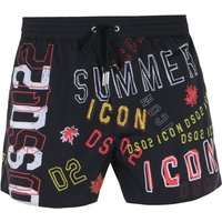 DSquared2 Icon Black Swim Shorts