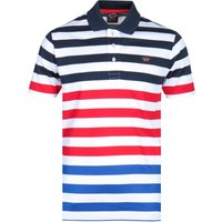 Paul & Shark Multi Striped Polo Shirt