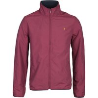 Farah Talbot Lightweight Burgundy Jacket