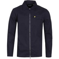 Lyle & Scott Navy Twill Overshirt