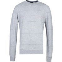 PS Paul Smith Fine Stripe Grey Marl Sweatshirt