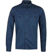 PS Paul Smith Casual Fit Long Sleeve Navy Pocket Shirt