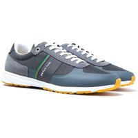 PS Paul Smith Huey Stone Grey Mesh Trainers