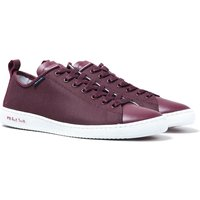 PS Paul Smith Miyata Burgundy Trainers