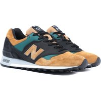 New Balance Made In England M577 Tan, Black & Green Trainers