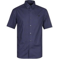 Fred Perry Carbon Blue Gingham Shirt