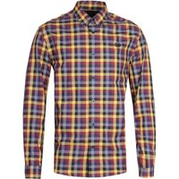 Fred-Perry-Five-Colour-Check-Long-Sleeve-Gingham-Shirt