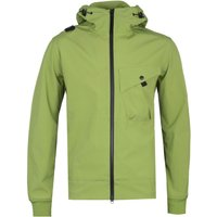 MA.Strum Soft Shell Malum Green Hooded Jacket