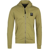 MA.Strum Full Zip Oasis Green Training Hoodie