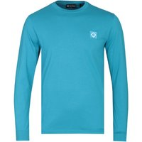 MA.Strum Long Sleeve Iceberg Blue Icon T-Shirt